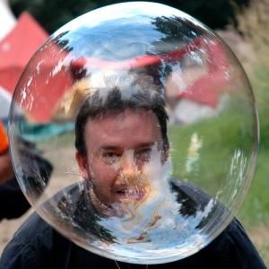 bubble head
